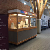 Display at the Missoula Airport